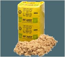Isover mineraluld granulat